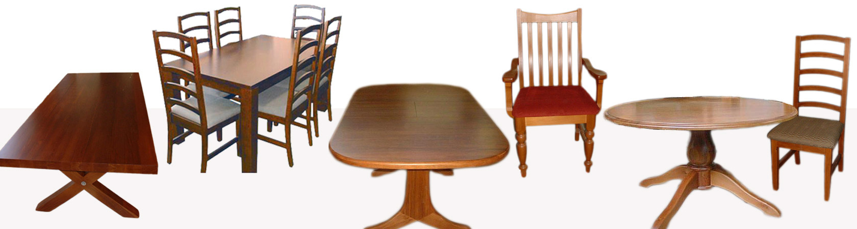 Long Lasting Quality Wooden Dining Suites Hand Crafted In Christchurch